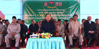 H.E Senior Minister, Im Chhun Leum presided over Mosque inauguration in Mondol Kiri Province