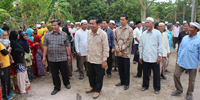 His Excellency Othsman Hassan visited Mosque building located in Boeung Lvea commune, Kampong Thom province