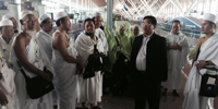 H.E Othsman Hassan Intervene to 98 Cambodian Muslim Pilgrims Who Stranded at Kuala Lampur International Airport, Malaysia