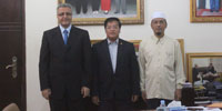 Libya support Cambodia to become a member of OIC