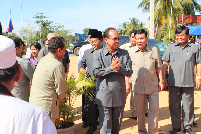 H.E Senior Minister, Im Chhun Leum Presided Over Mosque Inauguration in​ Thnort Village, Pongro Commune, Chhlong District, Kratie Province